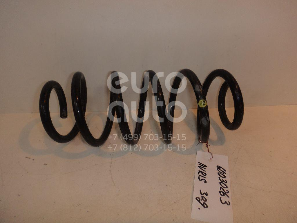 Пружина задняя для Toyota Auris E18 2012> - Фото №1