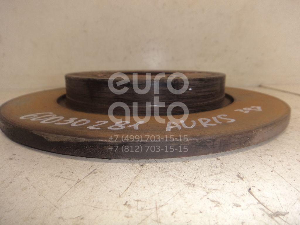 Диск тормозной задний для Toyota Auris (E18) 2012>;Auris (E15) 2006-2012;Corolla E15 2006-2013;Corolla E18 2013> - Фото №1