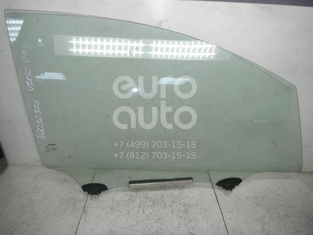 Стекло двери передней правой для Toyota Verso 2009> - Фото №1
