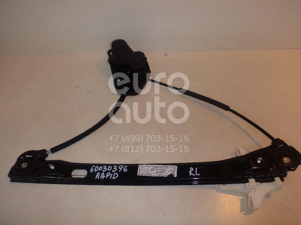 Стеклоподъемник механ. задний левый для Skoda,Seat Rapid 2013>;Toledo 2013> - Фото №1