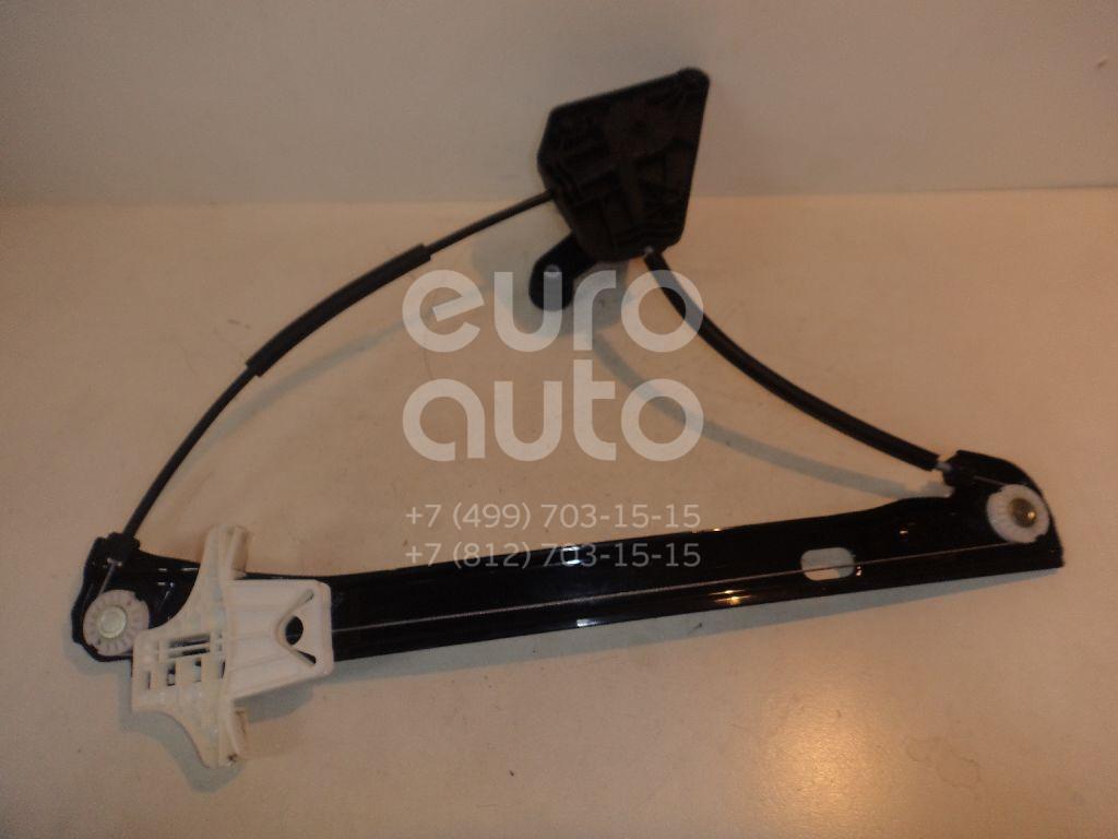 Стеклоподъемник механ. задний левый для Skoda,Seat Rapid 2013>;Toledo IV 2013> - Фото №1