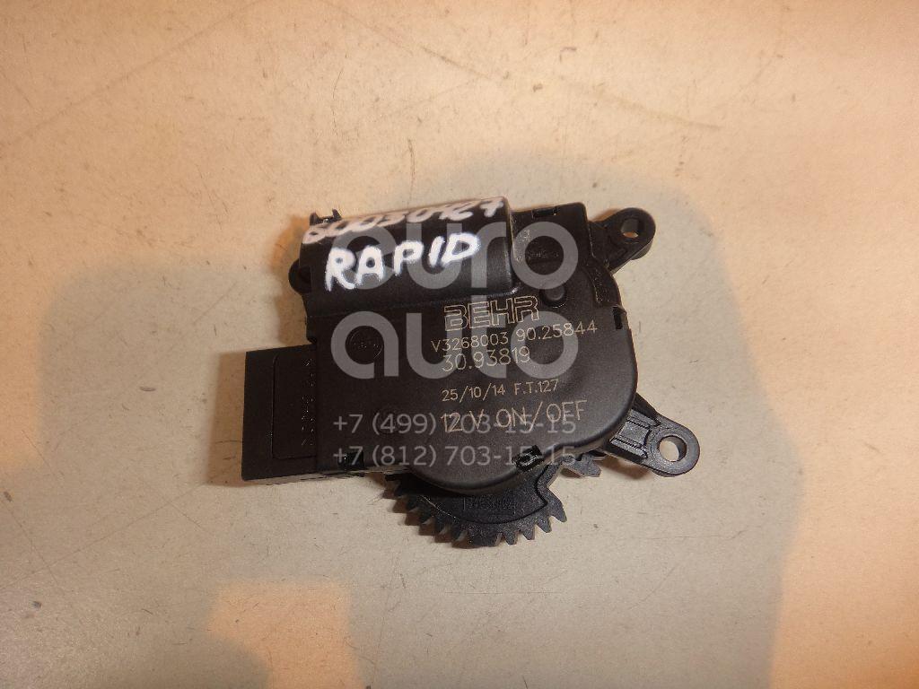 Моторчик заслонки отопителя для Skoda Rapid 2013>;Fabia 2007-2015 - Фото №1