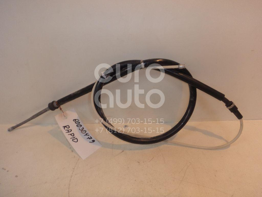 Трос стояночного тормоза для Skoda Rapid 2013> - Фото №1