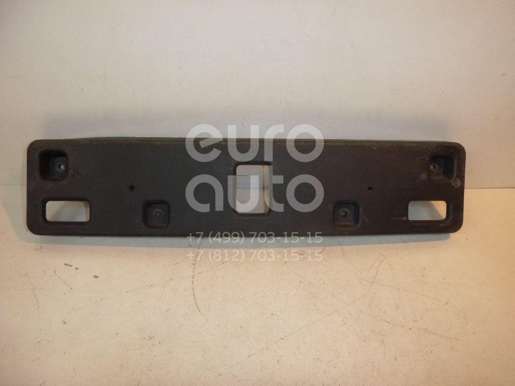 Накладка переднего бампера под номер для Opel Mokka 2012> - Фото №1