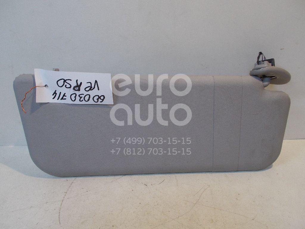 Козырек солнцезащитный (внутри) для Toyota Verso 2009> - Фото №1