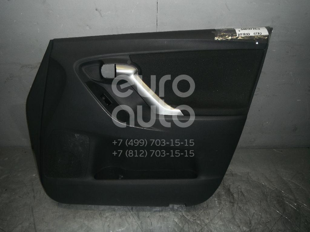 Обшивка двери передней правой для Toyota Verso 2009> - Фото №1