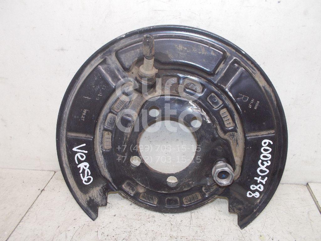 Щит опорный задний правый для Toyota Verso 2009> - Фото №1