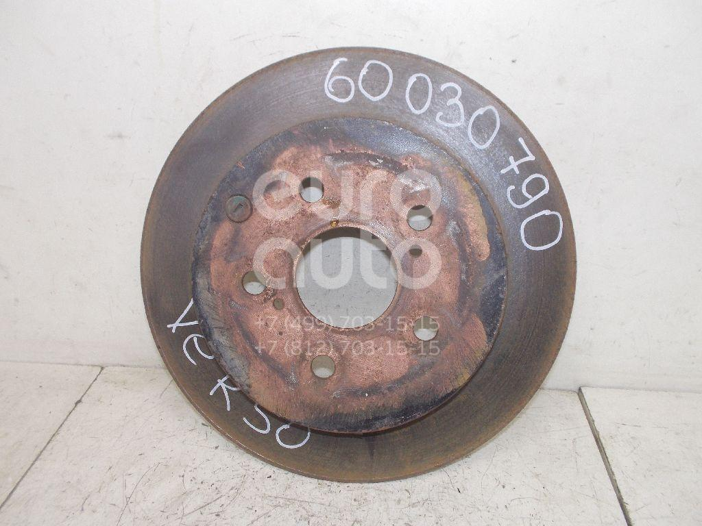 Диск тормозной задний для Toyota Verso 2009> - Фото №1