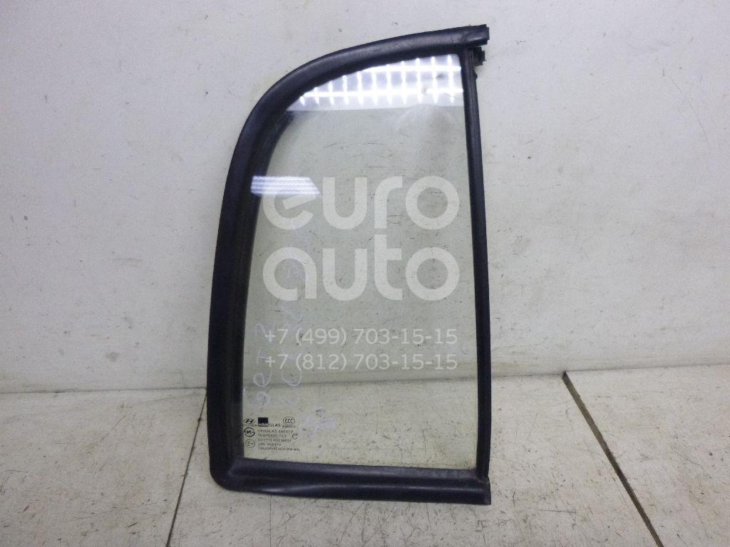 Стекло двери задней правой (форточка) для Hyundai Getz 2002-2010 - Фото №1