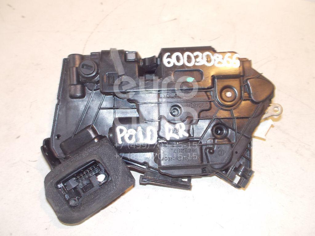 Замок двери задней правой для VW Polo (HB) 2009>;Golf VI 2009-2012;Polo (Sed RUS) 2011>;Jetta 2011> - Фото №1
