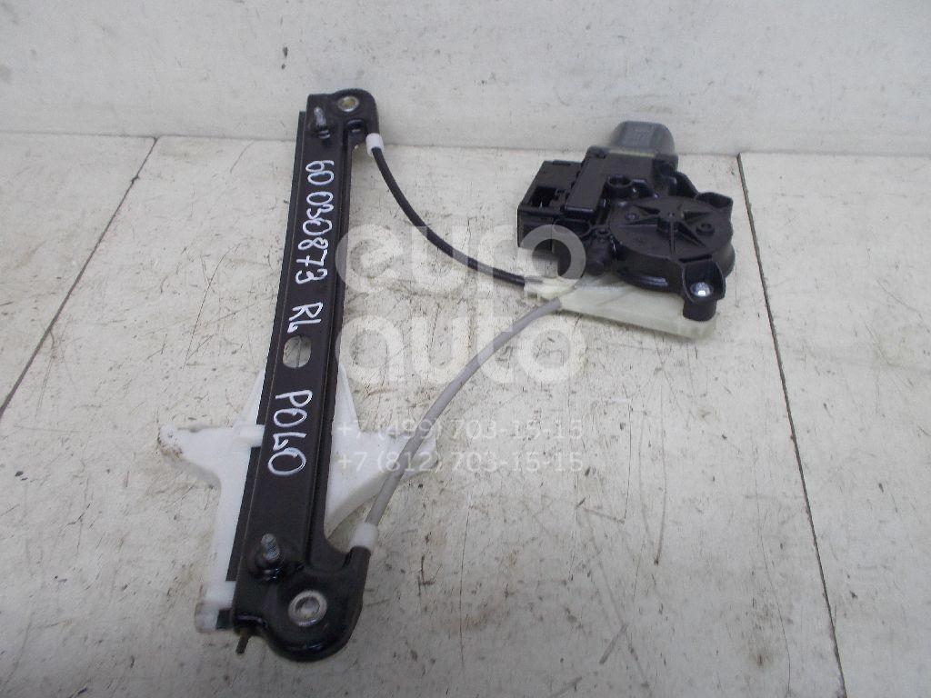 Стеклоподъемник электр. задний левый для VW Polo (HB) 2009> - Фото №1