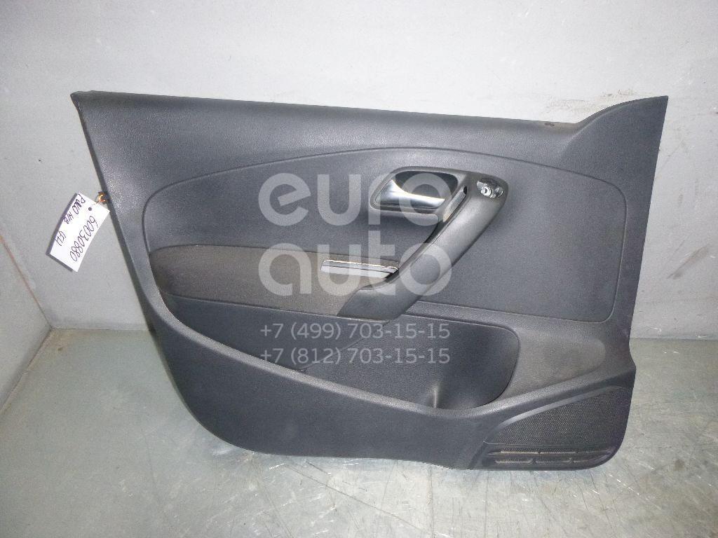 Обшивка двери передней левой для VW Polo (HB) 2009> - Фото №1