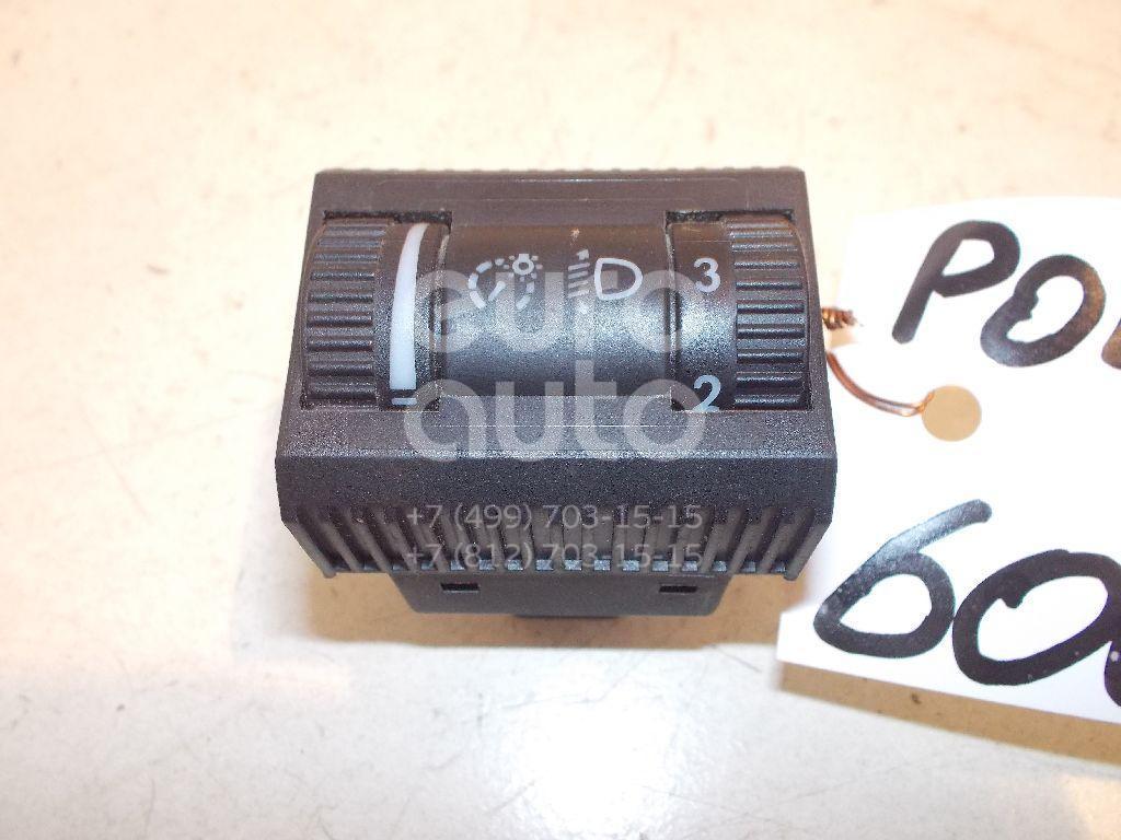 Кнопка освещения панели приборов для VW Polo (HB) 2009> - Фото №1
