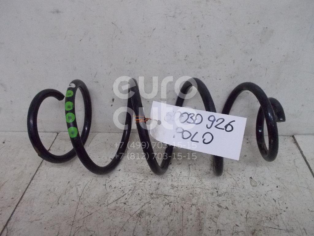Пружина передняя для VW,Skoda Polo (HB) 2009>;Polo (Sed RUS) 2011>;Rapid 2013> - Фото №1