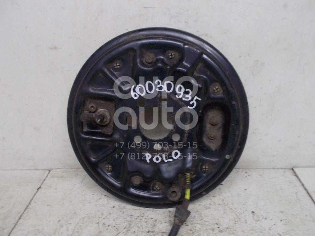 Щит опорный задний правый для VW,Seat,Skoda Polo (HB) 2009>;Toledo I 1991-1999;Lupo 1998-2005;Fabia 1999-2007;Polo 2001-2009;Ibiza V 2008>;Fabia 2007-2015;Fox 2005-2011 - Фото №1