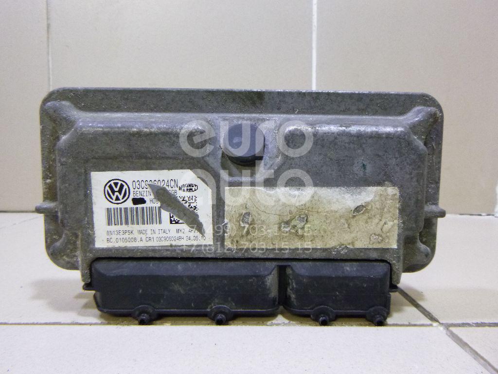Блок управления двигателем для VW Polo (HB) 2009> - Фото №1