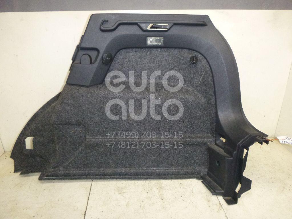 Обшивка багажника для VW Polo (HB) 2009> - Фото №1