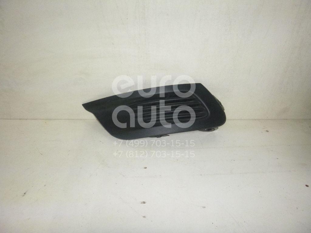 Решетка в бампер левая для Renault Fluence 2010> - Фото №1