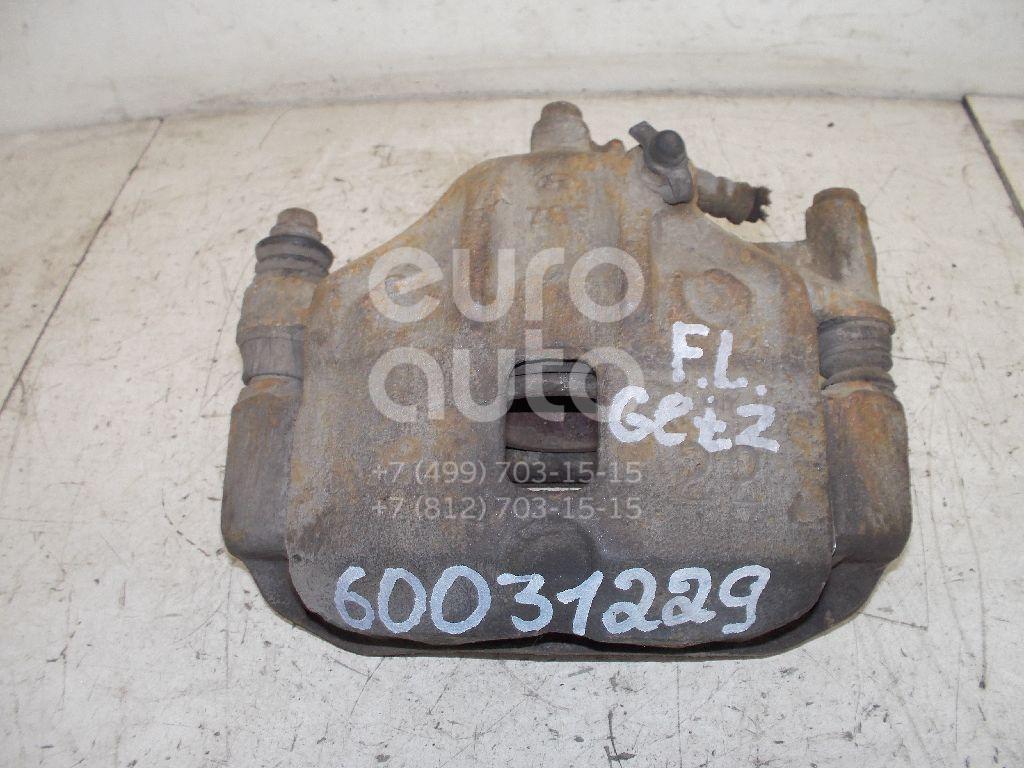 Суппорт передний левый для Hyundai Getz 2002-2010 - Фото №1