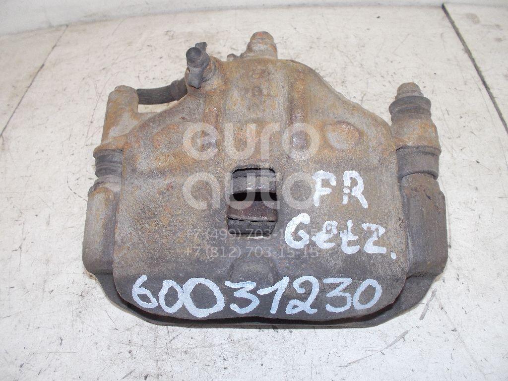 Суппорт передний правый для Hyundai Getz 2002-2010 - Фото №1