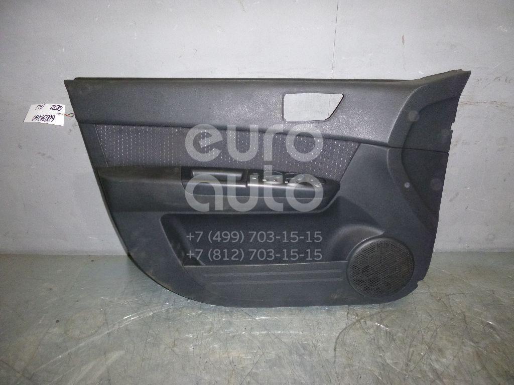 Обшивка двери передней левой для Hyundai Getz 2002-2010 - Фото №1