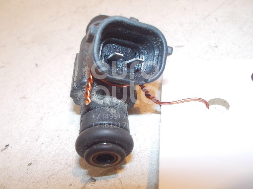 Форсунка инжекторная электрическая для Hyundai,Kia Getz 2002-2010;Coupe (RD) 1996-2002;Elantra 2000-2006;Matrix 2001-2010;Coupe (GK) 2002-2009;Cerato 2004-2008;Accent II (+ТАГАЗ) 2000-2012;Atos Prime 1999-2007 - Фото №1