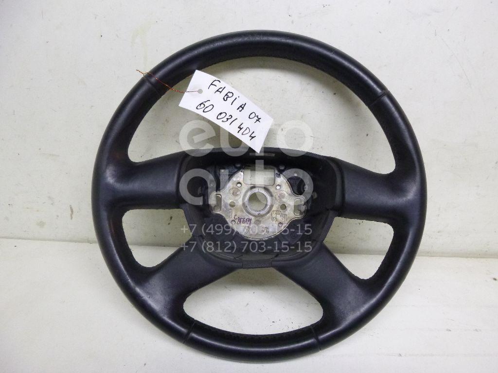 Рулевое колесо для AIR BAG (без AIR BAG) для Skoda Fabia 2007-2015;Octavia (A4 1U-) 2000-2011;Octavia (A5 1Z-) 2004-2013;Roomster 2006-2015;Superb 2008-2015;Yeti 2009>;Rapid 2013> - Фото №1
