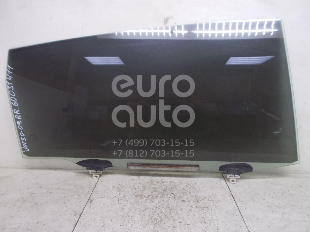 Стекло двери задней правой для Toyota CorollaVerso 2004-2009 - Фото №1