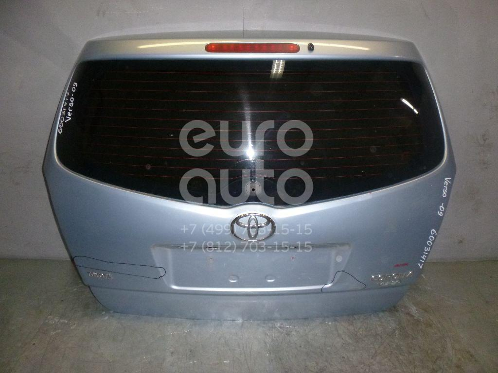 Дверь багажника со стеклом для Toyota CorollaVerso 2004-2009 - Фото №1