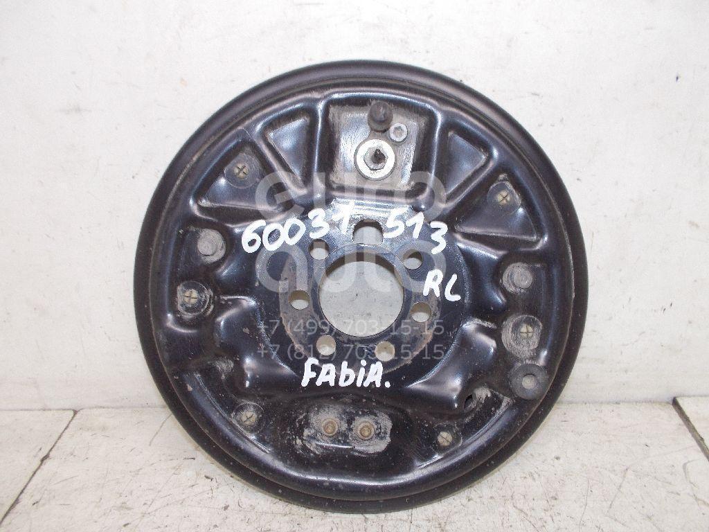 Щит опорный задний левый для VW Fabia 2007-2015;Polo (HB) 2009> - Фото №1