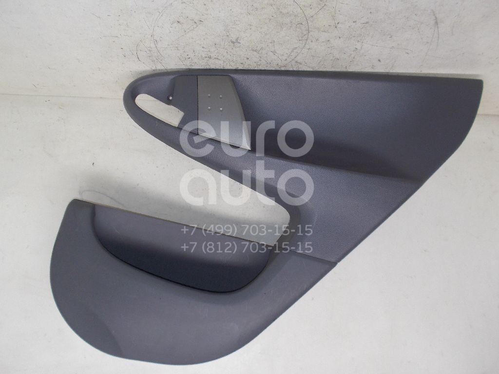 Купить Обшивка двери задней правой Peugeot 107 2006-2014; (933381)