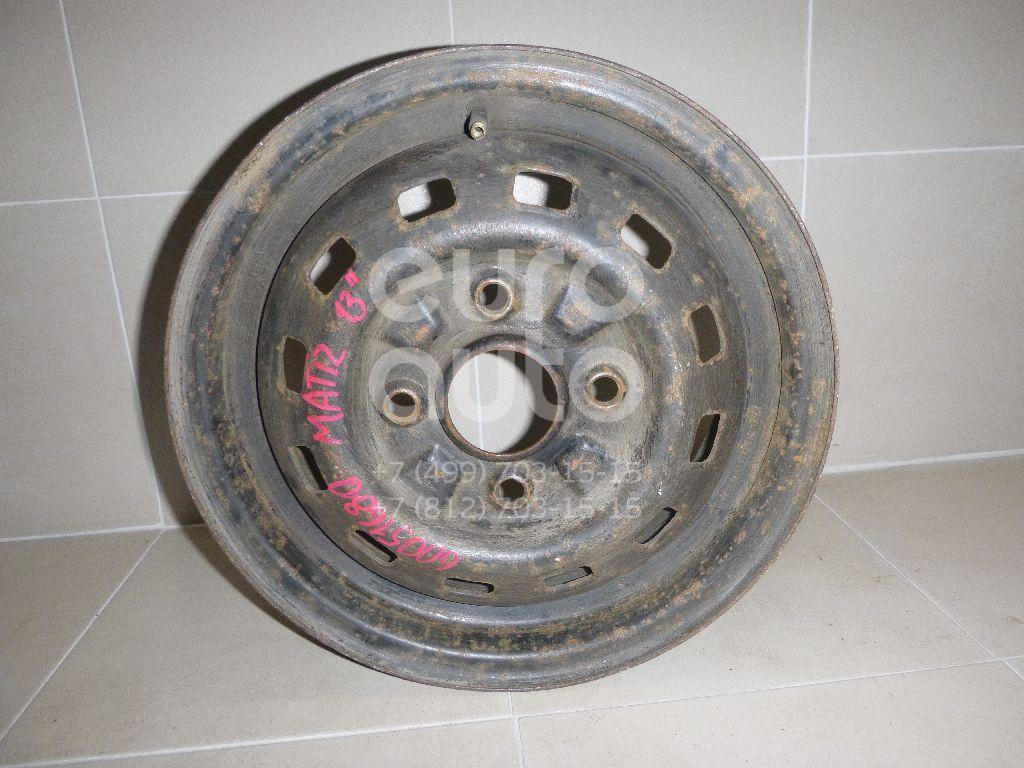 Диск колесный железо для Daewoo,Chevrolet Matiz 1998-2015;Spark 2005-2011 - Фото №1