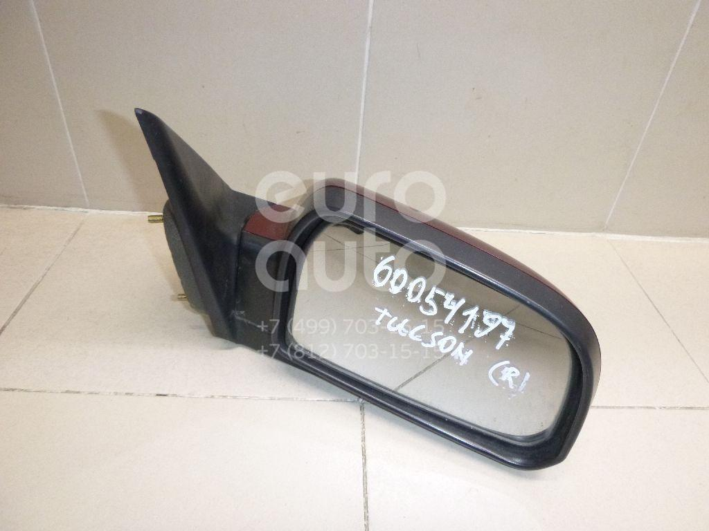 Купить Зеркало правое электрическое Hyundai Tucson 2004-2010; (876202E560)