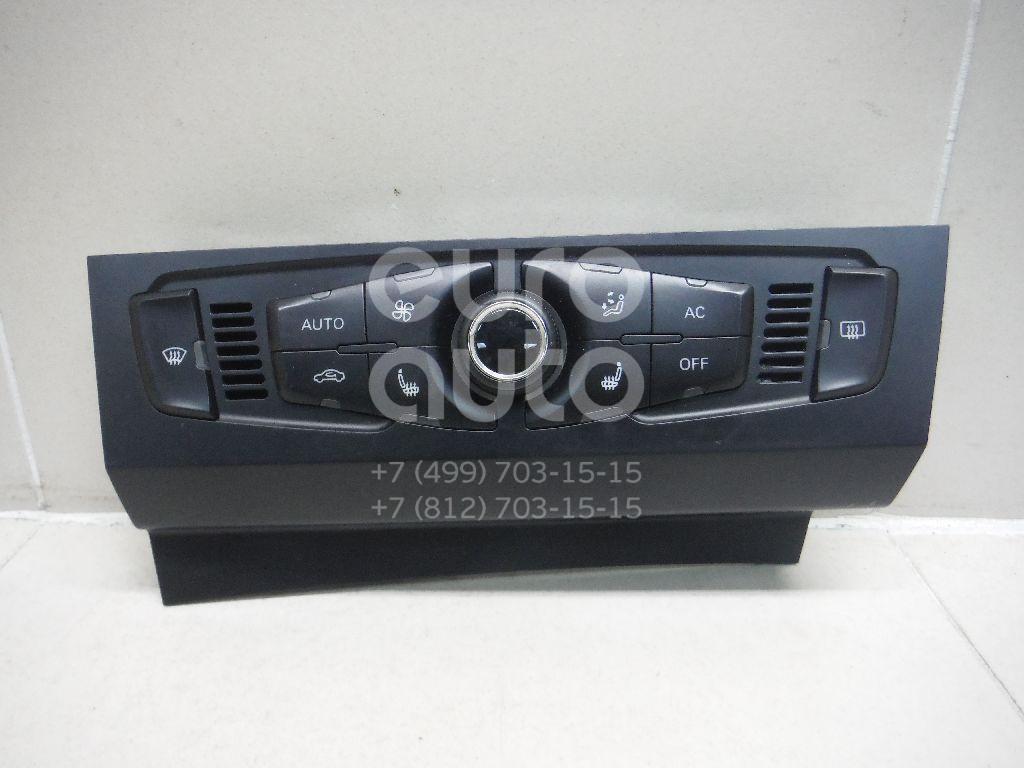 Купить Блок управления климатической установкой Audi A4 [B8] 2007-2015; (8T1820043AAXZF)