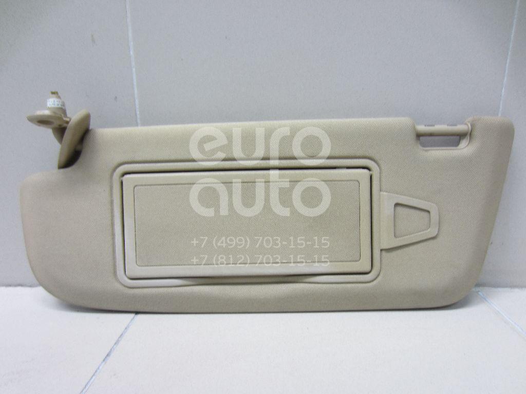 Купить Козырек солнцезащитный (внутри) Mercedes Benz W221 2005-2013; (22181001108L48)