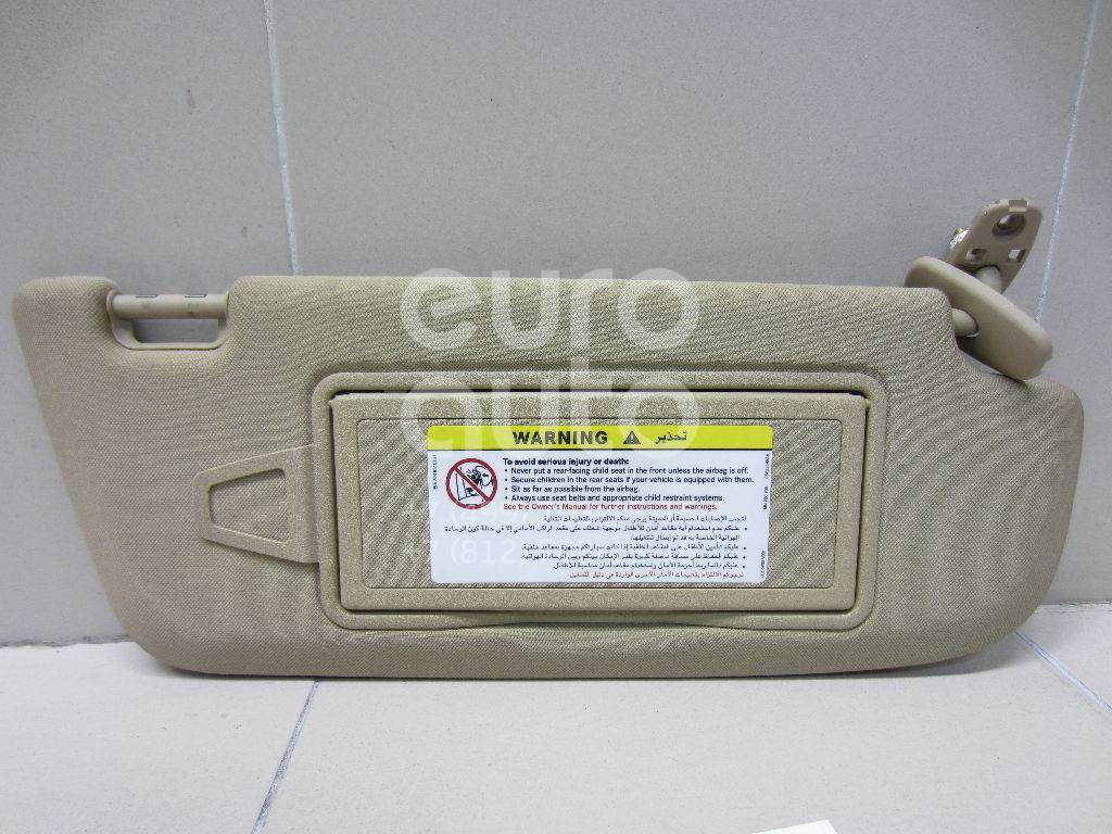 Купить Козырек солнцезащитный (внутри) Mercedes Benz W221 2005-2013; (22181002108L48)