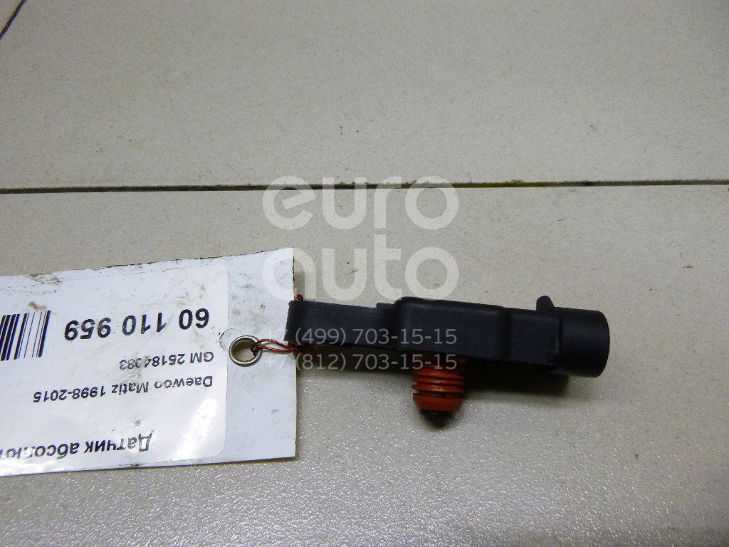 Датчик абсолютного давления Daewoo Matiz (M100/M150) 1998-2015; (25184083)  - купить со скидкой