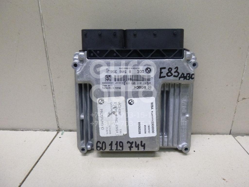 Купить Блок управления двигателем BMW X3 E83 2004-2010; (13618506356)