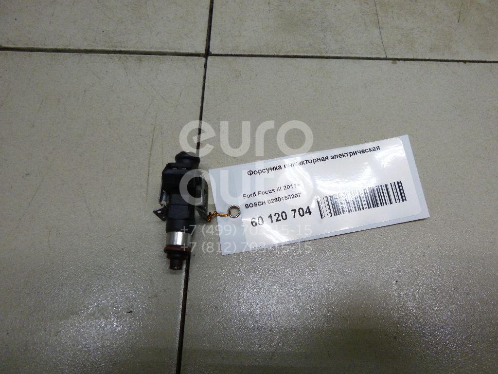 Купить Форсунка инжекторная электрическая Ford Focus III 2011-; (0280158207)