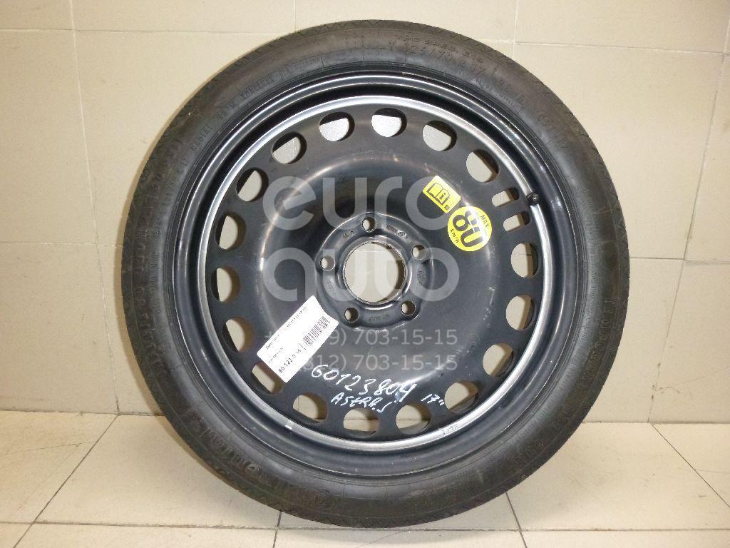 Купить Диск запасного колеса (докатка) Opel Astra J 2010-; (13259232)