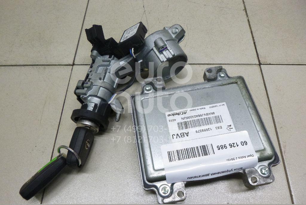 Купить Блок управления двигателем Opel Astra J 2010-; (12659379)