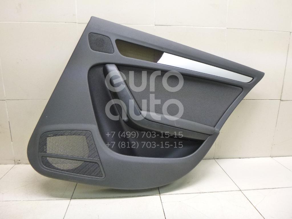 Купить Обшивка двери задней правой Audi A4 [B8] 2007-2015; (8K0867304D)