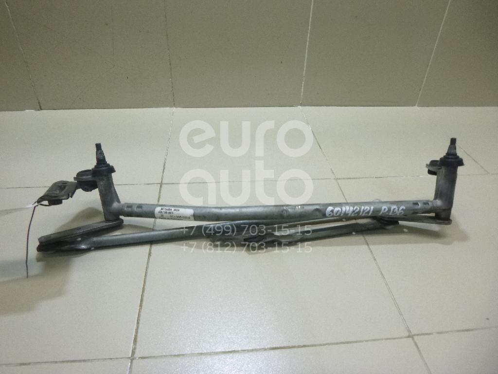 Купить Трапеция стеклоочистителей VW Passat [B6] 2005-2010; (3C1955023E)