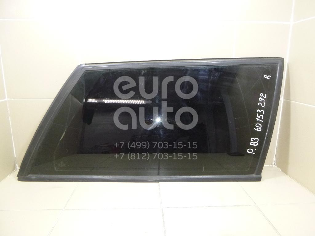 Купить Стекло кузовное глухое правое VW Passat [B3] 1988-1993; (3A9845298C)
