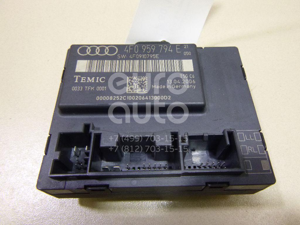 Купить Блок комфорта Audi Allroad quattro 2006-2012; (4F0959794E)