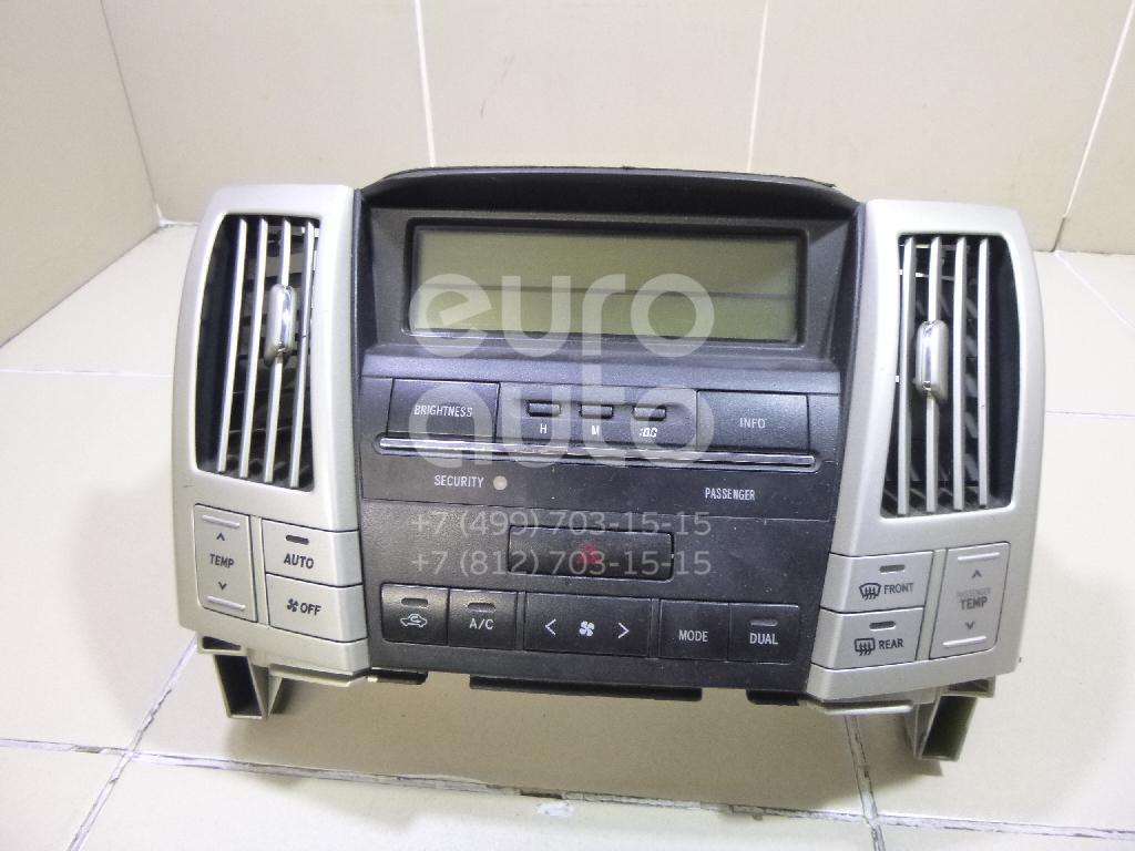 Купить Блок управления климатической установкой Lexus RX 300/330/350/400h 2003-2009; (8401048140)