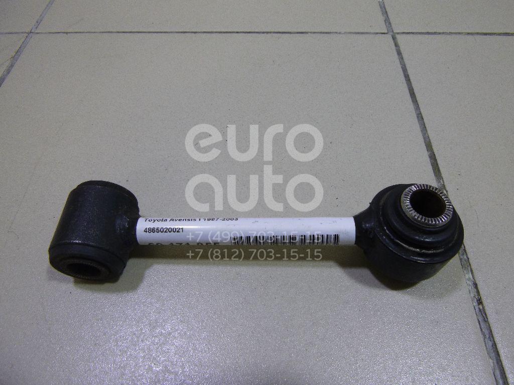 Тяга переднего рычага Toyota Avensis I 1997-2003; (4865020021)  - купить со скидкой
