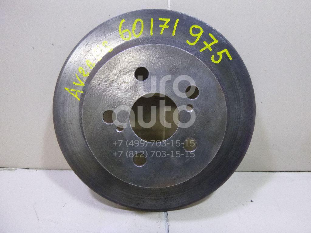 Купить Диск тормозной задний Toyota Avensis I 1997-2003; (4243105040)