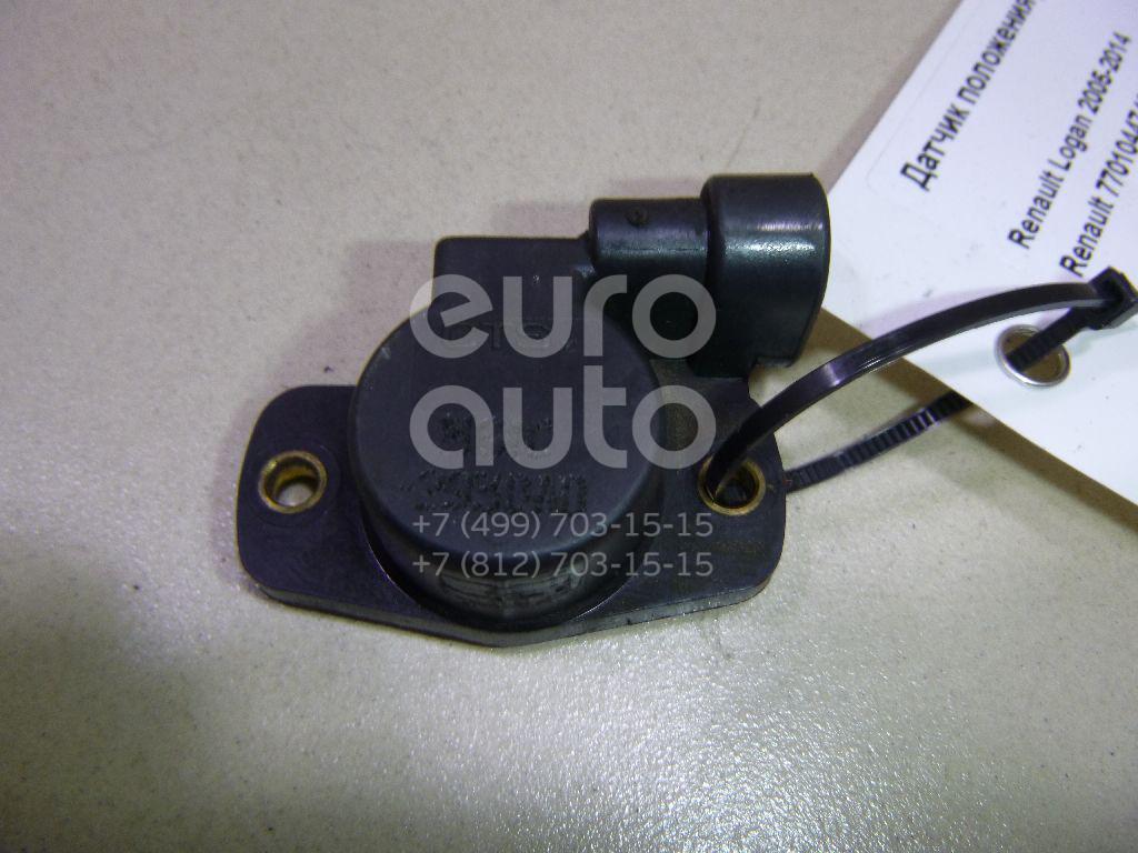 Купить Датчик положения дроссельной заслонки Renault Logan 2005-2014; (7701044743)
