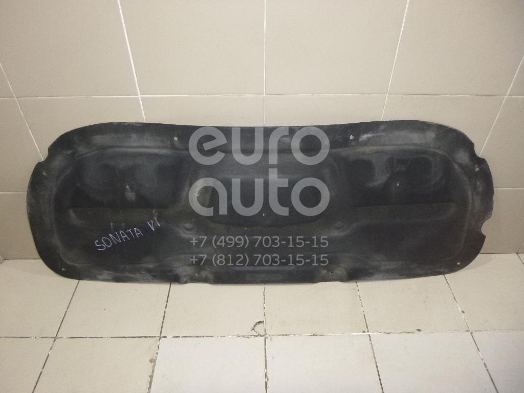 Купить Шумоизоляция капота Hyundai Sonata VI 2010-2014; (811253S000)